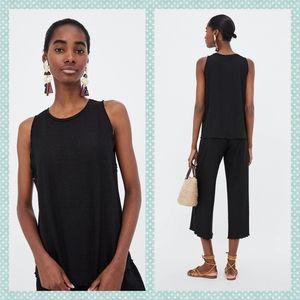 Zara Textured Weave Top